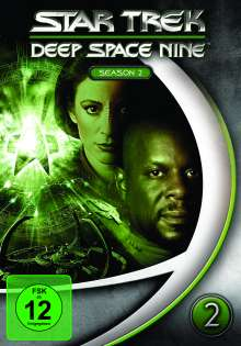 Star Trek: Deep Space Nine Season 2, 7 DVDs