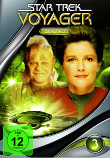 Star Trek Voyager Season 3, 7 DVDs