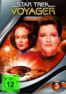 Star Trek Voyager Season 5, 7 DVDs