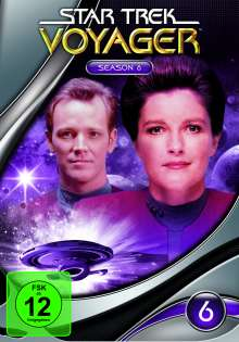 Star Trek Voyager Season 6, 7 DVDs