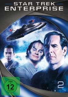 Star Trek Enterprise Season 2, 7 DVDs