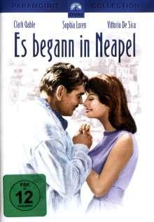 Es begann in Neapel, DVD