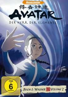 Avatar Buch 1: Wasser Vol.2, DVD