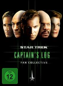 Star Trek Captain's Log Fan Collective, 5 DVDs