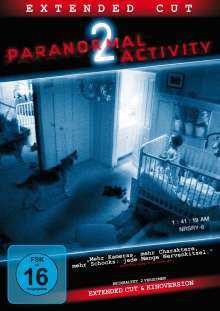 Paranormal Activity 2, DVD