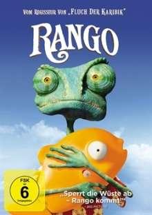 Rango, DVD