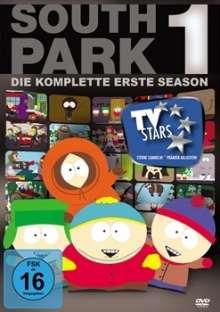 South Park Season 1, 3 DVDs