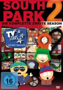 South Park Season 2, 3 DVDs