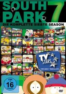 South Park Season 7, 3 DVDs