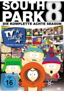 South Park Season 8, 3 DVDs