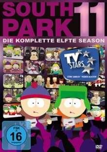 South Park Season 11, 3 DVDs