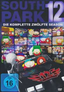 South Park Season 12, 3 DVDs