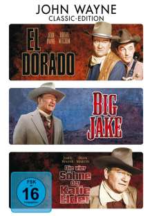 John Wayne Western Collection, 3 DVDs