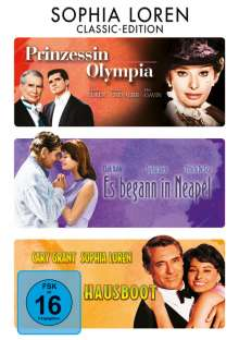 Sophia Loren Classic Edition, 3 DVDs