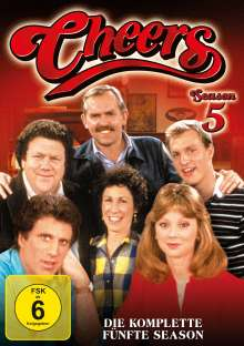 Cheers Season 5, 4 DVDs