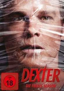 Dexter Season 8 (finale Staffel), 4 DVDs