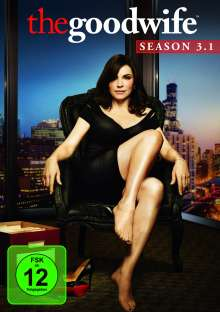 The Good Wife Season 3 Box 1, 3 DVDs