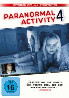 Paranormal Activity 4 - Extended Cut, DVD