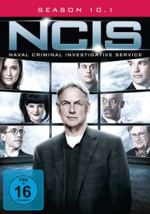 Navy CIS Season 10 Box 1, 3 DVDs