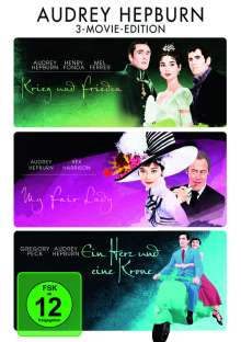 Audrey Hepburn 3 Movie Edition, 3 DVDs