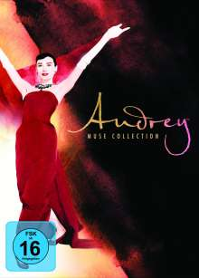 Audrey Hepburn Muse Collection, 8 DVDs
