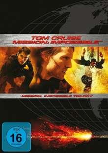 Mission: Impossible Trilogie, 3 DVDs