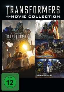 Transformers 4-Movie Collection, 4 DVDs