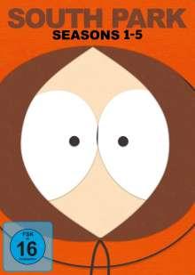 South Park Season 1-5, 15 DVDs