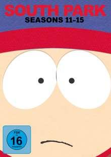 South Park Season 11-15, 15 DVDs