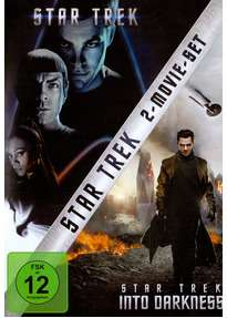 Star Trek (2009) & Star Trek Into Darkness (2013), 2 DVDs