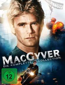 MacGyver (Komplette Serie), 38 DVDs