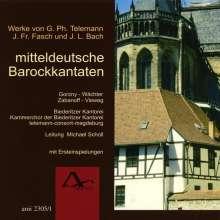 Mittedeutsche Barockkantaten, CD