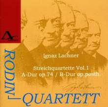 Ignaz Lachner (1807-1895): Sämtliche Streichquartette Vol.1, CD