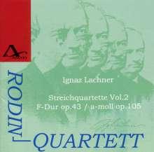 Ignaz Lachner (1807-1895): Sämtliche Streichquartette Vol.2, CD