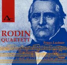 Franz Lachner (1803-1890): Streichquartette Vol.1, CD