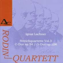 Ignaz Lachner (1807-1895): Sämtliche Streichquartette Vol.3, CD