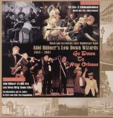 Abbi Hübner (1933-2021): Abbi Hübner's Low Down Wizards 1964 - 2001, 4 CDs