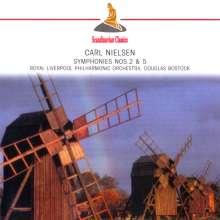 Carl Nielsen (1865-1931): Symphonien Nr.2 & 5, CD