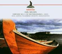Carl Nielsen (1865-1931): Symphonie Nr.4, CD
