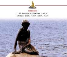 Copenhagen Saxophone Quartet, CD