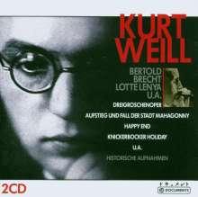 Kurt Weill (1900-1950): Historische Aufnahmen, 2 CDs