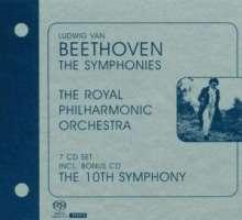 Ludwig van Beethoven (1770-1827): Symphonien Nr.1-9, 7 Super Audio CDs
