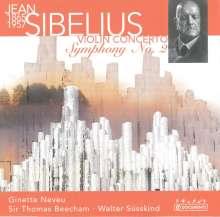 Jean Sibelius (1865-1957): Violinkonzert op.47, CD