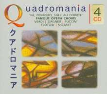 Die großen Opernchöre, 4 CDs