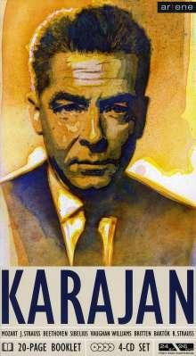 Herbert von Karajan dirigiert, 4 CDs