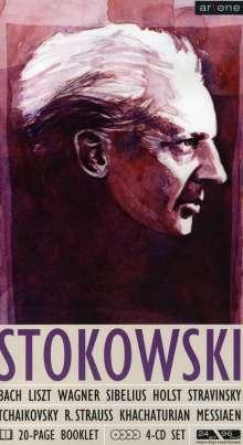 Leopold Stokowski dirigiert, 4 CDs