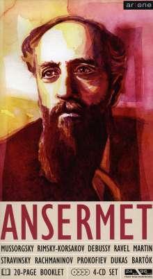 Ernest Ansermet dirigiert, 4 CDs