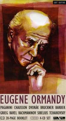 Eugene Ormandy dirigiert, 4 CDs