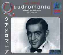 Benny Goodman (1909-1986): Get Happy, 4 CDs