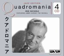 Red Nichols (1905-1965): Featuring Jimmy Dorsey & P.W. Russell, 4 CDs
